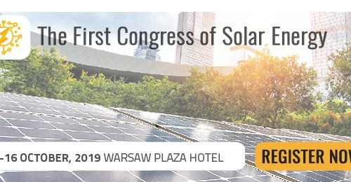 The First Congress of Solar Energy