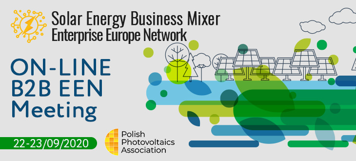 Solar Energy Business Mixer – Online B2B EEN Meetings